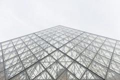 Pirámide del Louvre Foto de archivo libre de regalías