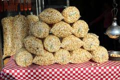 Pirámide del maíz de la caldera Imagenes de archivo