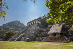Pirámide del maya Imágenes de archivo libres de regalías