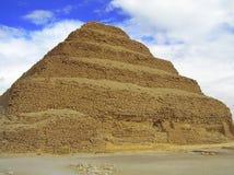 Pirámide del paso de progresión de Sakkara Foto de archivo