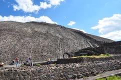 Pirámide del Sun, México Imagen de archivo libre de regalías