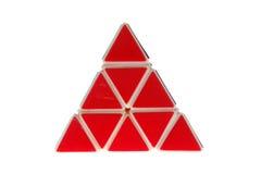 Pirámide del triángulo Fotografía de archivo libre de regalías