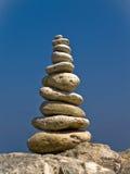 Pirámide del zen Fotos de archivo libres de regalías