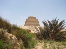Pirámide en Meduma Fotos de archivo