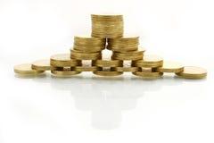 Pirámide financiera imagenes de archivo