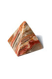 Pirámide hecha del onyx Foto de archivo