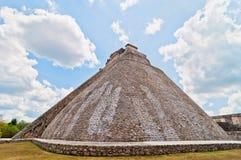 Pirámide maya antigua en Uxmal, Yucatán, México fotos de archivo libres de regalías