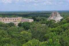 Pirámide maya de Anicent Fotografía de archivo libre de regalías