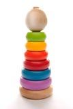 Pirámide multicolora de los niños Fotografía de archivo libre de regalías