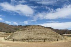 Pirámide redonda Guachimontones Fotos de archivo