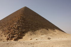 Pirámide roja Imagen de archivo