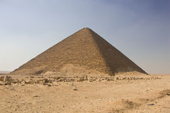 Pirámide roja fotografía de archivo libre de regalías