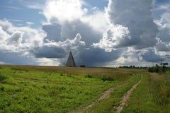 Pirámide rusa Imagenes de archivo