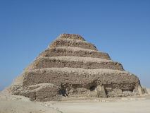 Pirámide Sakkarra del paso de progresión Imagenes de archivo