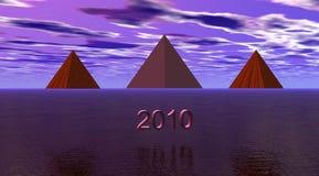 Pirámides ilustración del vector