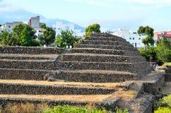 Pirámides de Guimar Imagen de archivo