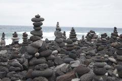 Pirámides de piedras Fotografía de archivo libre de regalías
