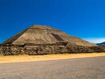 Pirámides de Teotihuacan Foto de archivo libre de regalías