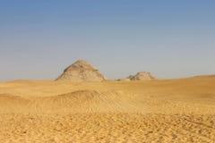 Pirámides egipcias Imagenes de archivo