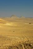 Pirámides egipcias foto de archivo libre de regalías