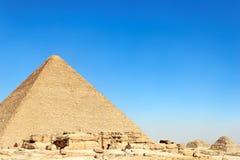 Pirámides en Egipto Fotografía de archivo