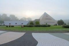 Pirámides en Polonia Fotos de archivo libres de regalías