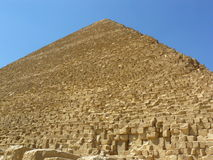Pirámides grandes de Egipto Foto de archivo libre de regalías