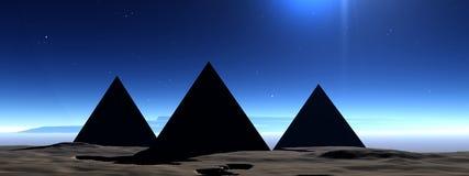 Pirâmide 7 Foto de Stock