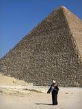A pirâmide antiga Imagens de Stock