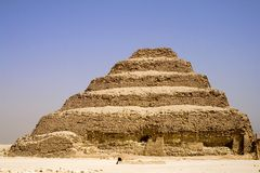 A pirâmide da etapa de Djoser Foto de Stock Royalty Free