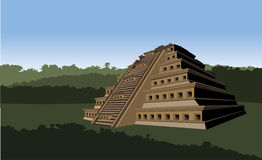 Pirâmide das ameias Fotos de Stock