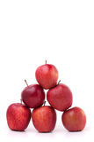 Pirâmide das maçãs Fotos de Stock Royalty Free