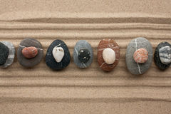 Pirâmide das pedras fotografia de stock