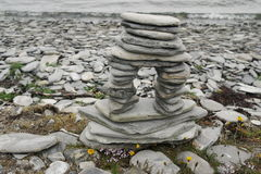 Pirâmide das pedras Fotos de Stock Royalty Free