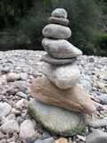 Pirâmide das rochas fotos de stock