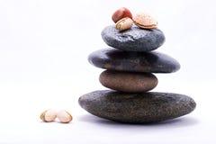 Pirâmide de alimento - porcas Imagem de Stock