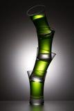 Pirâmide de bebidas alcoólicas Imagem de Stock Royalty Free