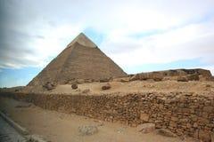 Pirâmide de Cheops Foto de Stock