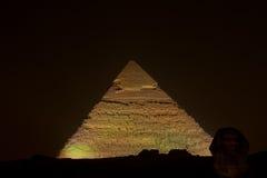 A pirâmide de Kephren (Giza) Fotografia de Stock Royalty Free