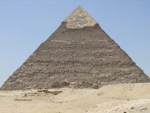 Pirâmide de Khafre imagens de stock