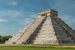 Pirâmide de Kukulcan Foto de Stock Royalty Free