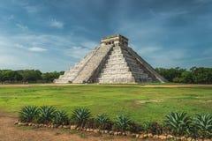 Pirâmide de Kukulcan Fotografia de Stock Royalty Free