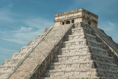 Pirâmide de Kukulcan Foto de Stock