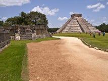 A pirâmide de Kukulkan Imagem de Stock