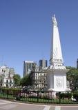 Pirâmide de maio, Buenos Aires, Argentina Fotos de Stock Royalty Free