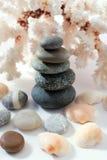 Pirâmide de pedra Foto de Stock Royalty Free