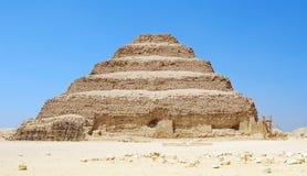 A pirâmide de Sakkara imagem de stock