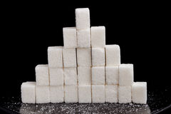 Pirâmide do açúcar Foto de Stock Royalty Free