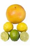 Pirâmide do fruto Fotos de Stock Royalty Free