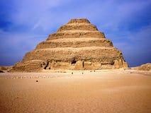 Pirâmide do grau de Saqqarah Foto de Stock Royalty Free